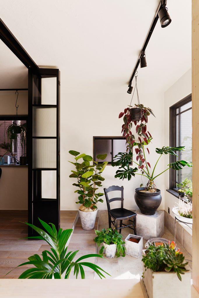 botanical garden house