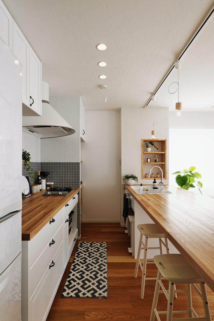 プライベート空間が保たれている、快適な二世帯生活