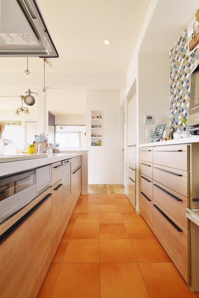 楽しみはキッチンに立つこと