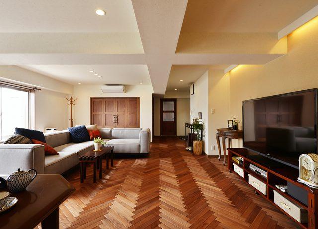 開放感重視のホテルライクなフルリノベ
