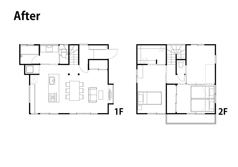 無機質な家