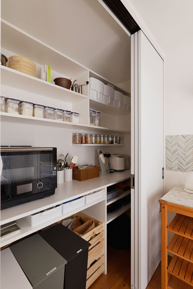 広くなったキッチンでみんなで料理ができたらいいですね