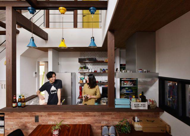 自分の好きなものに囲まれていて、「こういう家に住みたかったんだ!」って実感してます