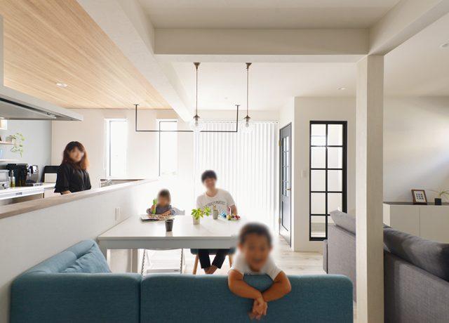 子どもたちがのびのびできる環境。家をつくってよかったなと心から思っています。